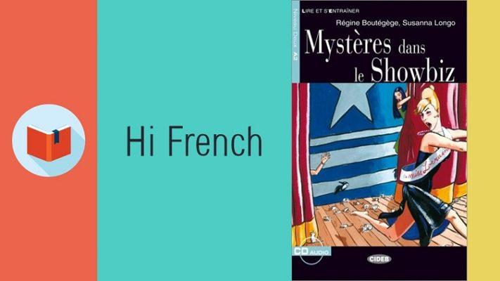 دانلود کتاب داستان Mystères dans le showbiz