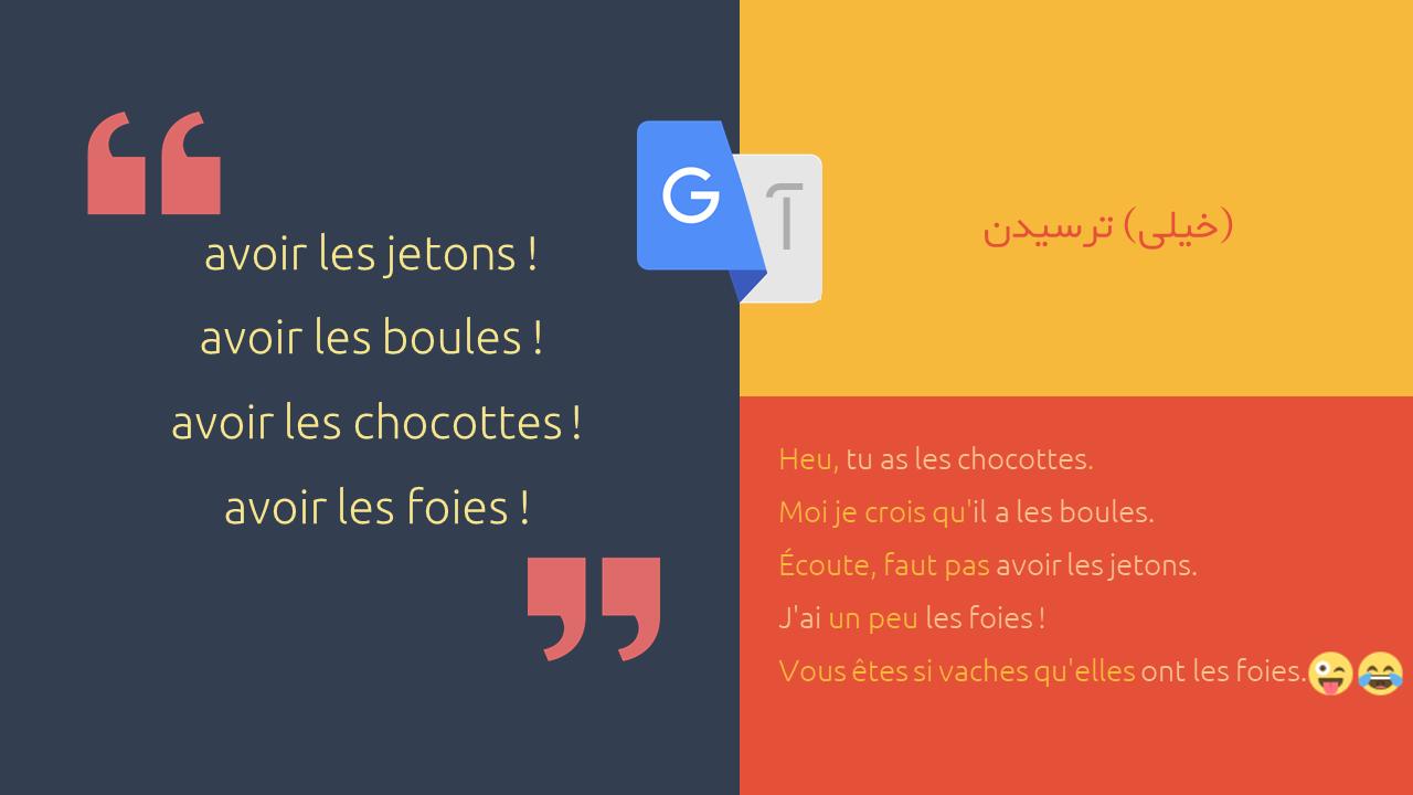 اصطلاحات فرانسوی